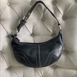 Coach Hobo Leather F12298